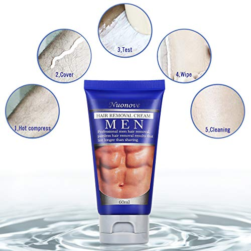 Crema Depilatoria Hombre,zonas sensibles – 60 ml