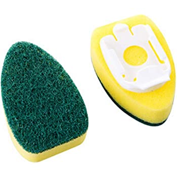 Du/šial Dish Wand Refills Sponge Heads Brush Replacement Sponge Refill Sponge Pads for Kitchen Room Cleaning Supplies