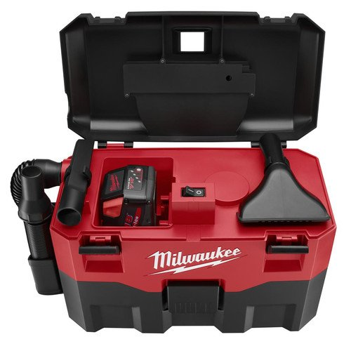 Milwaukee 0880-20 18V Cordless Lithium-Ion 2 Gallon Wet/Dry Vacuum (Bare Tool)