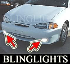 BLINGLIGHTS FOG LIGHTS for 95-99 HYUNDAI ACCENT GSI excel pony 96 97 98