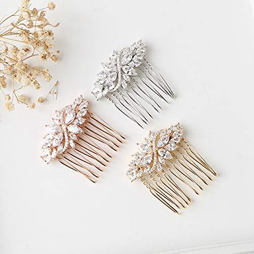 tocados boda,flores pelo,tocados pelo,adornos pelo,3 uds, peinetas para el cabello de boda...