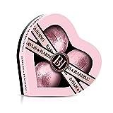 Baylis & Harding Jojoba, Vanilla & Almond Oil Luxury Heart Bath Bomb Fizzer Set