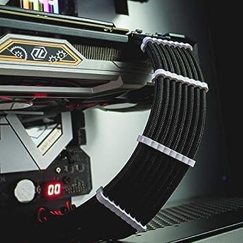 CableMod Pro puente Kit de peine para cables color negro