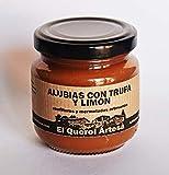 Mermelada Artesana de ALUBIAS CON TRUFA Y LIMÓN. 170gr. Ingredientes 100% naturales. Envíos gratis a partir de 20€.