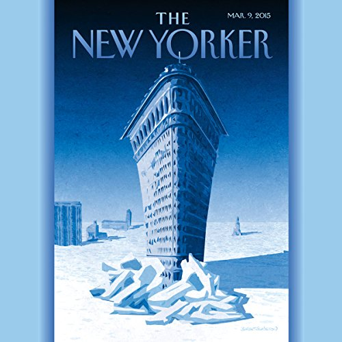 The New Yorker, March 9th 2015 (Eric Schlosser, Jeffrey Toobin, Lizzie Widdicombe) copertina