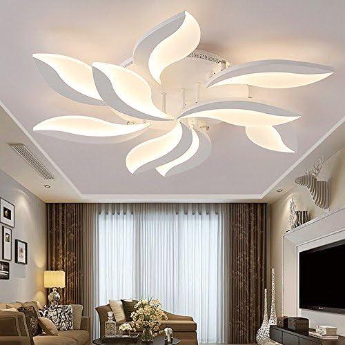 TIANLIANG04 Deckenleuchten Wohnzimmer lampe,led Deckenleuchte,Schlafzimmer Lampen,dekorative Leuchte,5 Staats warmes Licht 15 Kopf Stufenlos Dimmen