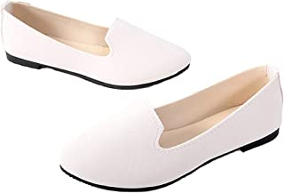 Amazon.es: Blanco - Bailarinas / Zapatos planos: Zapatos y ...