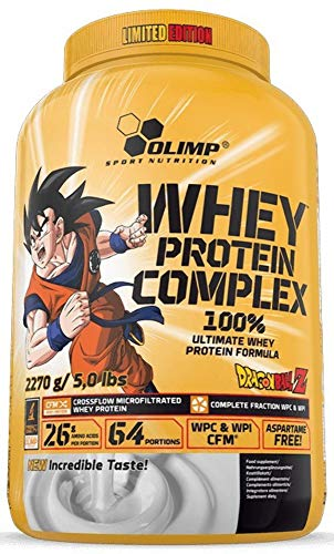 Olimp Nutrition Whey Protein Complex 100% Limited Edition Dragon Ball, Cookies Cream - 2270g