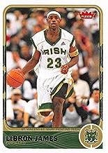 Lebron James Basketball Card (St. Vincent St. Mary High School) 2012 Fleer Retro #2