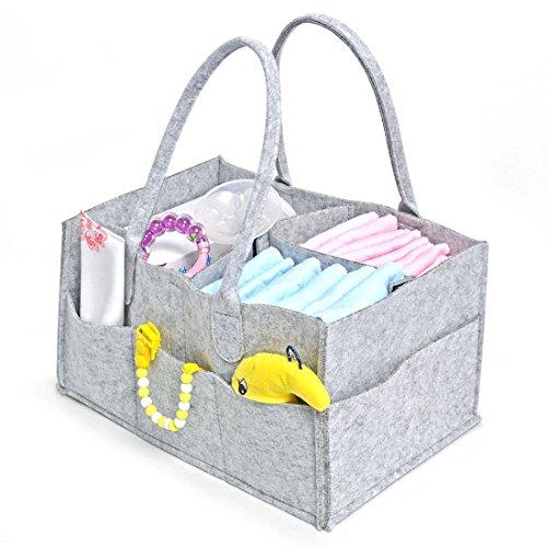 Jiyaru Portátil Bolsa Plegable Organizador Almacenamiento para Pañales de Bebé