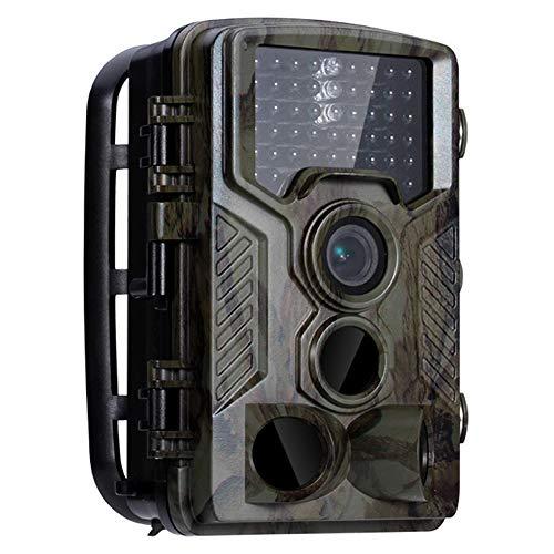 MSQL Wildkamera Wildlife Jagdkamera, 1080P 120 ° PIR-Sensor 2,4-Zoll-TFTLCD-Display IP66 wasserdicht, Nachtsicht bis zu 65 m, für die Jagd und für die Haussicherheit