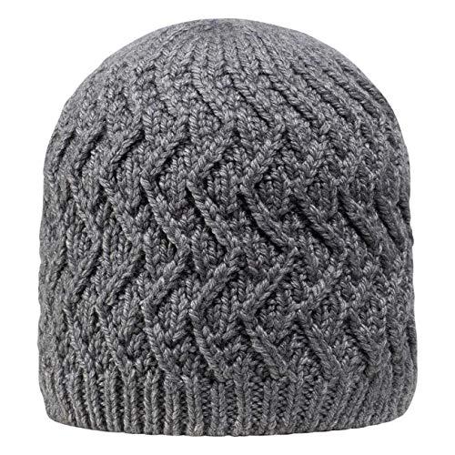 GIESSWEIN Beanie Kreuzeck - Merino-Mütze für Damen & Herren, Warme Strickmütze mit Fleece-Futter, Unisex Wool Cap, Wintermütze aus Merinowolle