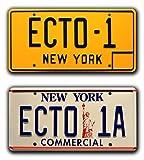 Ghostbusters 1 & 2   ECTO-1 + ECTO-1A   Metal...