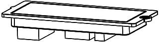 LG ABQ72940021 LG-ABQ72940021 Case Assembly,PCB