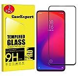 CaseExpert 2 Pack - Xiaomi Redmi K20 / Mi 9T Protector de Pantalla, Ultra Tanque Transparente Cristal 9H Cristal Templado Glass Protector de Pantalla para Xiaomi Redmi K20 / K20 Pro/Mi 9T