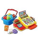 DYecHenG Caja Registradora de Juguete Simulación Infantil Play House rol Tocando Supermercado Cash Register Compras Toy para el Cajero Simulado (Color : Yellow, Size : As Shown)