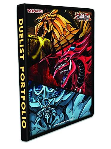Yu-Gi-Oh!- Trading Card Game Slifer Obelisk & Ra-Album 9 Tasche, YGO-J21Pf