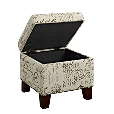 Dorel Living Ottoman with Storage