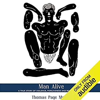 Man Alive audiobook cover art