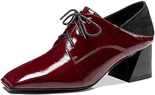 Nine Seven Women's Leather SquareToe Oxford Shoe