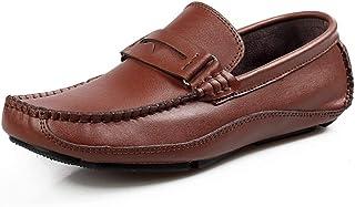 [BTXXY] シューズ レザー メンズ ビジネス 衝撃吸収 快適 シンプル 紳士靴 靴