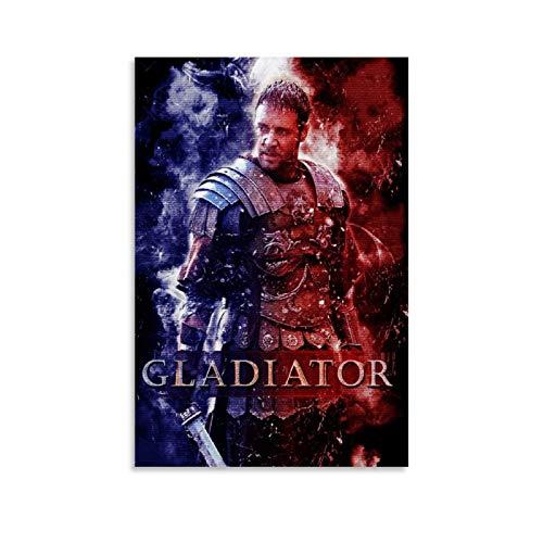 CHAOZHE Gladiator Is A 2000 Pop Dramas Poster TV serie drammatica Poster decorativo su tela da parete per soggiorno, camera da letto, 60 x 90 cm