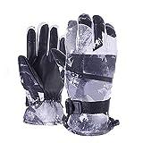 SIYWINA Guantes para Esquí Unisex Guantes Esquí con Pantalla Táctil para Esquí para Esquí,Ciclismo,Escalada,Montañismo