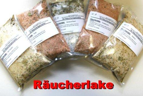 Gewürzmischung für Räucherlake 5 Sorten Probierpaket Set 1