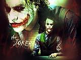 Kunstdruck auf Leinwand, Motiv Batman der Joker Heat Ledger
