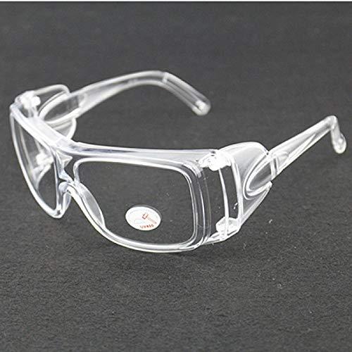 Veiligheidsbril windscherm goggles motorcycle accu zand and stofproof laboratorium bescherming volledig transparant glazen windscherm riding transparant