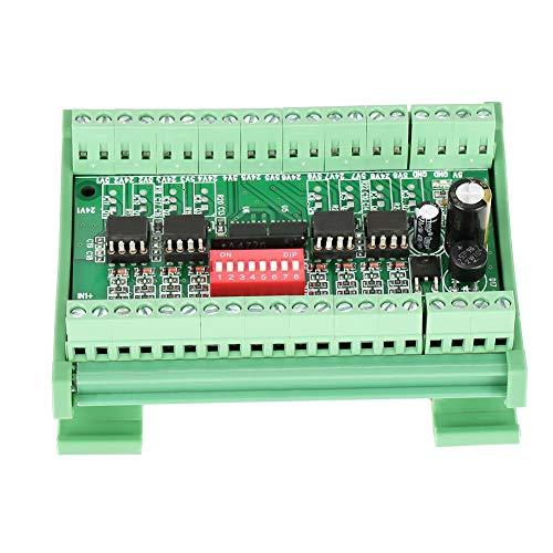 Convertidor de nivel, 8 canales NPN/PNP a NPN 5V/24V módulo de conversión de señal convertidor de nivel 10MHZ 1pc