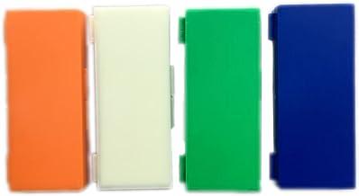Caja con capacidad para 50 portaobjetos de cristal, verde, 1