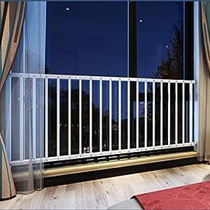 Fairy Baby Fairy Baby - Rejilla de seguridad interior para ventana de seguridad infantil, barras de acero para balaustres, color blanco, 220-284, 76 cm de altura blanco blanco Talla:220-284cm