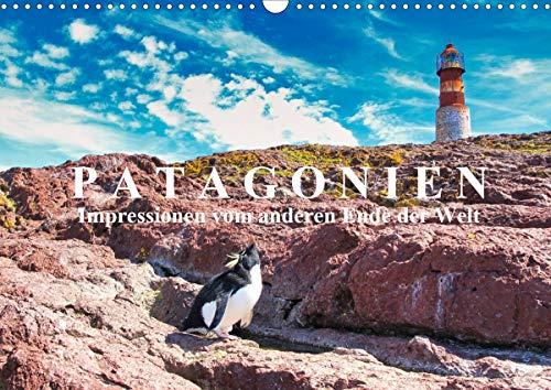 Patagonien: Impressionen vom anderen Ende der Welt (Wandkalender 2021 DIN A3 quer)