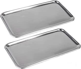 stainless steel serving trays rectangular