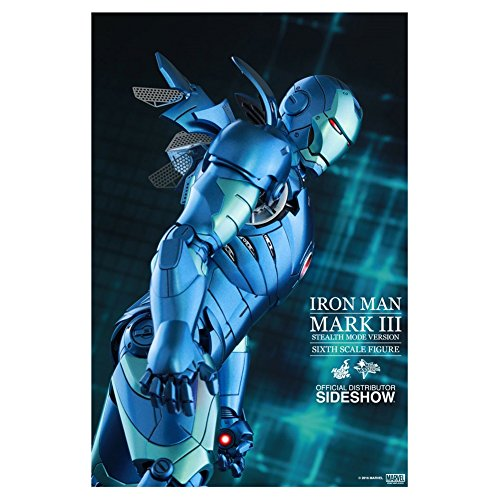 Avengers sshot902550 Figurine Iron Man Mark III Stealth