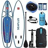 SEAPLUS Tabla de Paddle Surf Hinchable Tabla Stand Up Paddle...