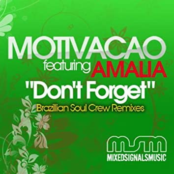Don't Forget Remixes (Featuring Amalia)