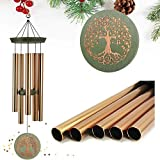 ASTARIN Wind Chimes Outdoor Deep Tone,36 Inch Large Memorial Windchimes for Loss of Loved One Engrave Tree of Life,Sympathy Wind Chimes Gifts for Mother,Garden Home Yard Hanging Decor
