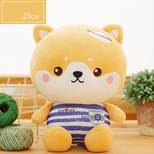 DOUFUZZ SNHPP Juguete Animal muñeca de Felpa agarra máquina muñeca muñeca muñeca de Dibujos Animados Boda Lanza pequeño Regalo 23cm El Perro de Heidi