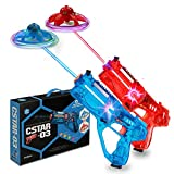 shoot&fly Gun Game Blaster as a Remote Control Drone, Toy Guns with an Quadcopters, Top Toys 2021, Shooting Game for Boys and Girls, Flying Toys Saucer Target, Teen Games, Christmas Toys 2021 (Set2)