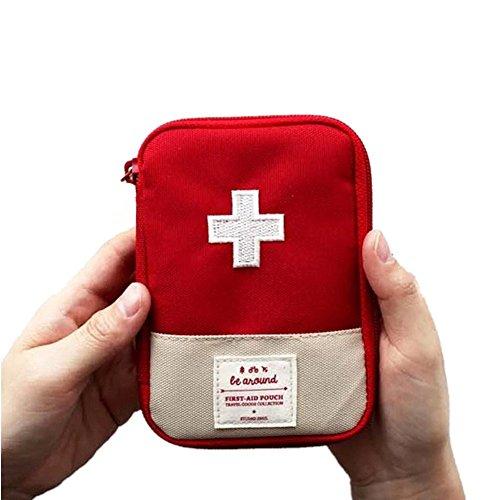 Mini bolsa médica Kit de primeros auxilios Bolsa de embalaje de droga