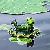 Simulation Frosch Schwimmende Tier Kleine Dekoration Gartenteich Im Freien Aquarium Landschaftsbau...