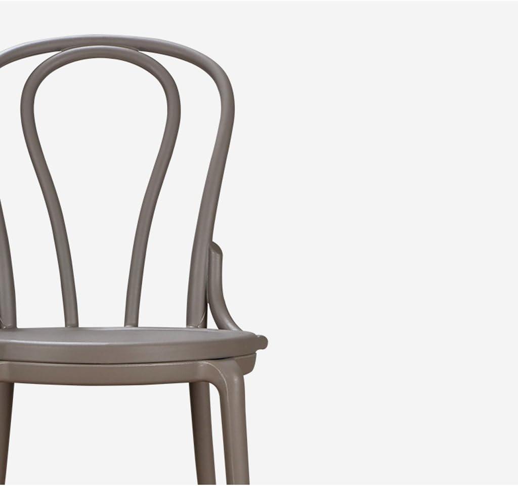 WDX- Chaise de salle à manger créative loisirs Chaise de chaise créative à la maison mode (Color : D) B