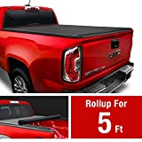 MaxMate Low Profile Soft Roll Up Truck Bed Tonneau Cover for...