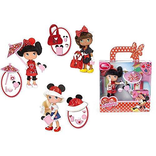 Famosa - Muñeca I Love Minnie por el Mundo