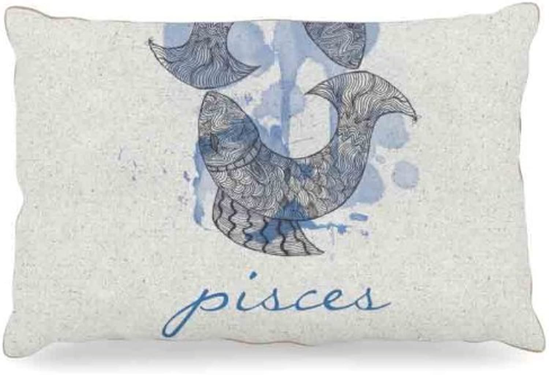 Kess InHouse Belinda Gillies Aquarius  Dog Bed, 50 by 60Inch
