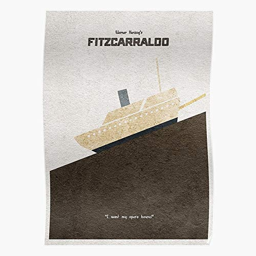 fashionAAA Fitzcarraldo Ship Movie Kinski Opera Werner Dream German Herzog Klaus House Das eindrucksvollste und stilvollste Poster für Innendekoration, das derzeit erhältlich ist