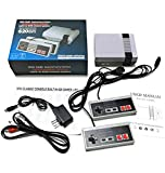 (2019 Newest!)Classic mini game console classic game console built-in 620 game video game console , AV output, 8-bit and...