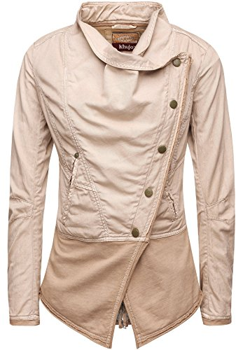 khujo Damen Jacke Woodside 1529JK161_126 126 Pebble, M